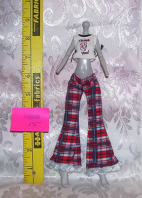MGA CLOTHES OUTFIT SET FOR MONSTER HIGH GIRL DOLL LOT #15 PANTS & SHIRT (Monster High Outfits For Girls)