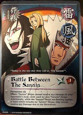 - Naruto CCG - Battle Between The Sannin [Mission] PR 029 FOIL Promo card NM+