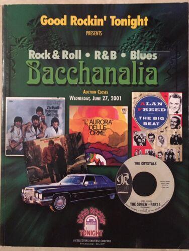 GOOD ROCKIN TONIGHT AUCTION CATALOG ROCK & ROLL BEATLES  AUTOGRAPHS & MEMORBILLA