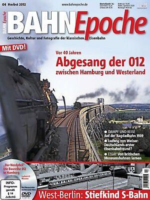 BahnEpoche Bahn Epoche mit DVD 4-2012