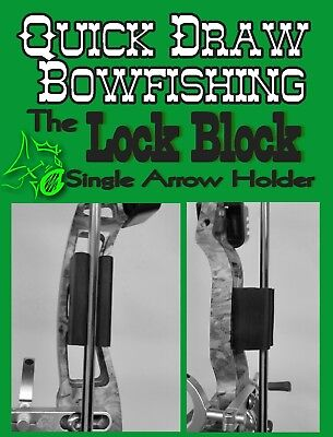Quick Draw Bowfishing Arrow Holder  One Arrow Bowfishing Quiver
