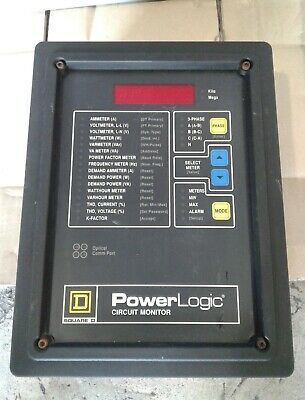 Square D Power Logic Circuit Monitor 3020 Cm2350