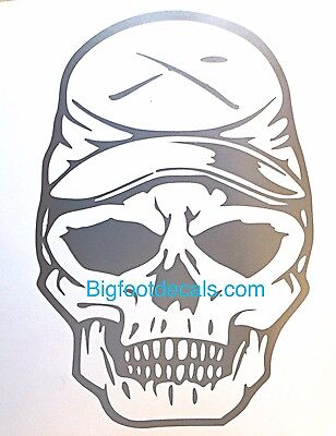 Zombie Southern Civil War Decal Soldier Confederate Rebel Car Truck Sticker LRG Confederate Flag Decal