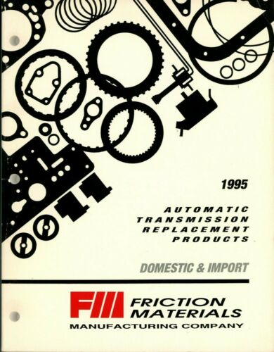 1995 Automatic Transmission Replacement Products Catalog - Domestic & Import