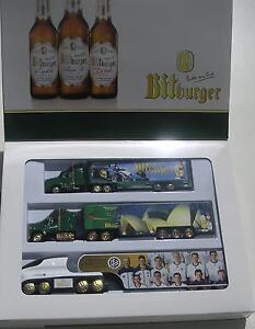 Bitburger  3 tlg Set Limited Edition !! Biertruck Werbe-Sammeltruck