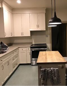 Kitchen Cabinets, island and countertops for sale