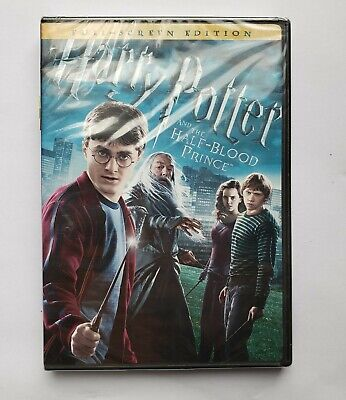 Harry Potter and the Half-Blood Prince DVD NEW Sealed Full Screen