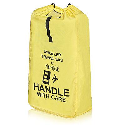 Stroller Travel Bag - Ultra Rugged Ballistic Nylon, Best for Airplane Gate