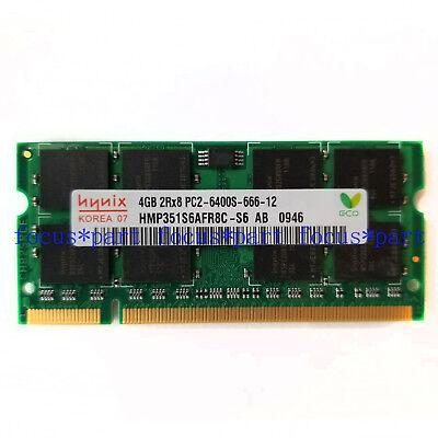 200-pin Ddr2 Sodimm-speicher (New Hynix 4GB DDR2 PC2-6400 800mhz 200Pin Laptop Memory Sodimm Speicher Ram)
