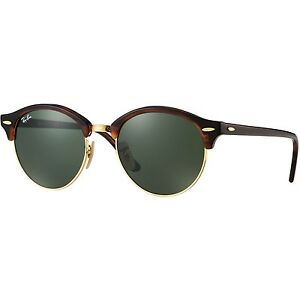 Authentic Ray-Ban Clubround Classic Tortoise