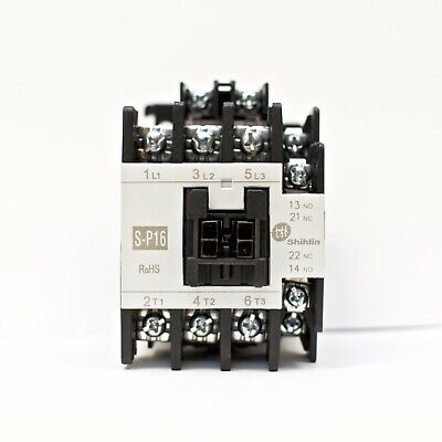 Shihlin Magnetic Contactor S-p16 3a1a1b Coil 220v