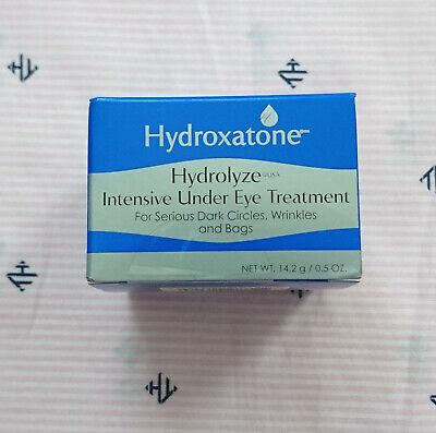 HYDROXATONE Hydrolyze Intensive Under Eye Treatment 0.5oz/14.2g BRAND NEW SEALED