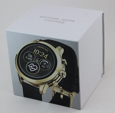 AUTHENTIC MICHAEL KORS RUNWAY GOLD ACCESS SMARTWATCH TOUCH SCREEN MKT5053 WATCH