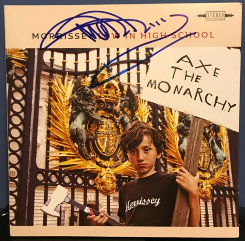 "Morrissey signed Low in High School 12"" LP album"
