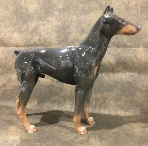 1957 Vintage German Rosenthal Porcelain Doberman Pinscher Dog Germany