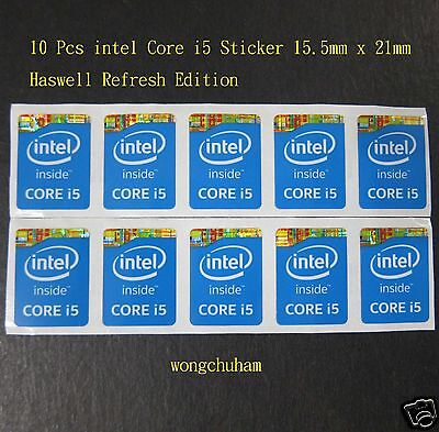 Intel Core i5 Sticker 15.5mm x 21mm Haswell Version