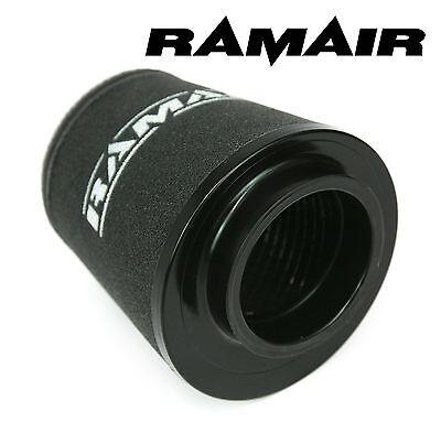 RAMAIR INDUCTION FOAM CONE AIR FILTER UNIVERSAL 80mm OFFSET NECK - 135mm TALL