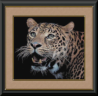 LEOPARD PORTRAIT~DELICA  PATTERN ONLY