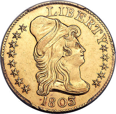 Click now to see the BUY IT NOW Price! 1803/2 DRAPED BUST 5.00 GOLD HALF EAGLE PCGS GRADED UNC DETAILS MINT LUSTER