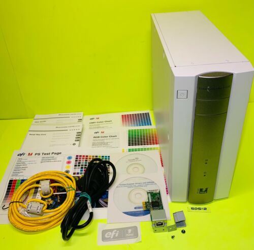 EFI Ricoh C5100S C5110S c6502 C8002 Fiery E-22B Color Controller Print Server