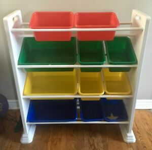 Storage toy bins