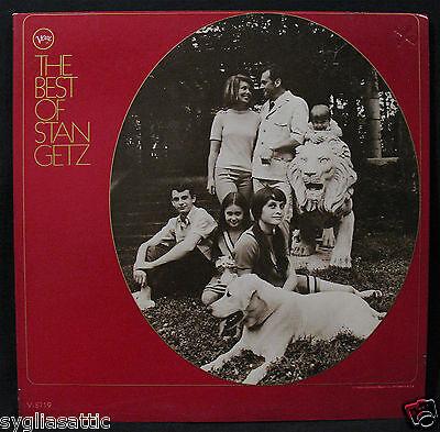 THE BEST OF STAN GETZ-A Nice Promotional Jazz Album In Mono-VERVE