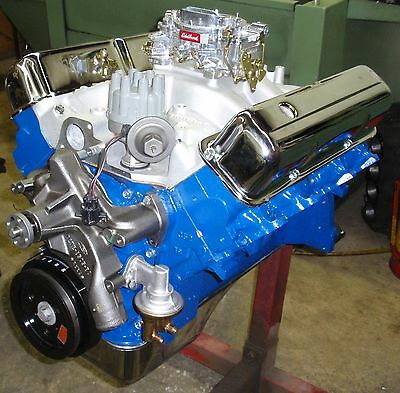 FORD FE BIG BLOCK 428 - 475 HORSE CRATE ENGINE /PRO-BUILT/NEW 390 427 SUPER RARE