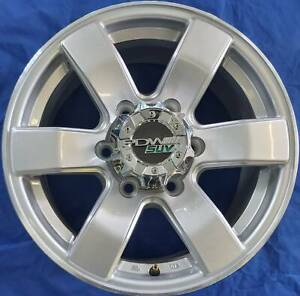 SET OF FOUR (4) PDW 16x7.5 6/139.7 et40 HORIZON Nambour Maroochydore Area Preview