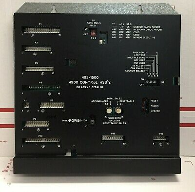 Rowe 4900 Snack Vending Machine Main Control Board