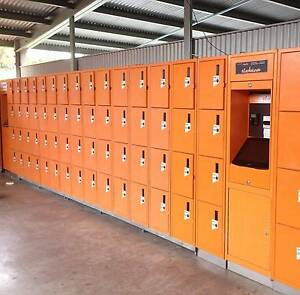 Coin Operated Lockers 52 Doors and 2 Control units MUST GO!! Reservoir Darebin Area Preview
