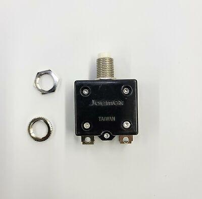 20 Amp Pushbutton Circuit Breaker Joemex Pe7420 20a