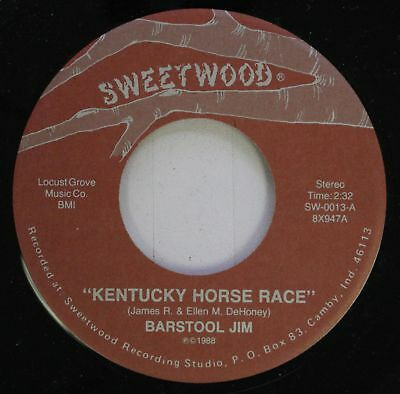 Pop Spoken Word Comedy Nm  45 Barstool Jim   Kentucky Horse Race   The Cunot Sna