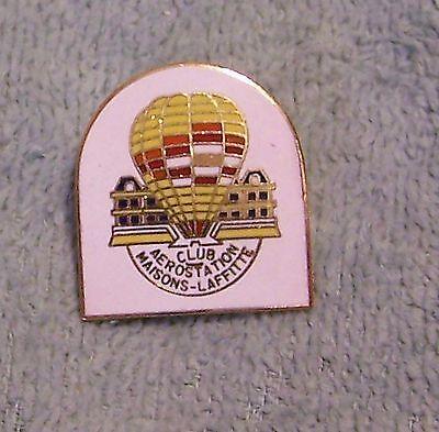 CLUB AEROSTATION MAISONS LAFFITTE BALLOON PIN