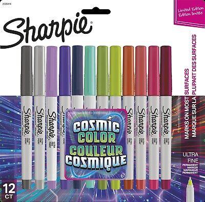 Sharpie Cosmic Color Ultra Fine Point Markers 12pkg  071641128620