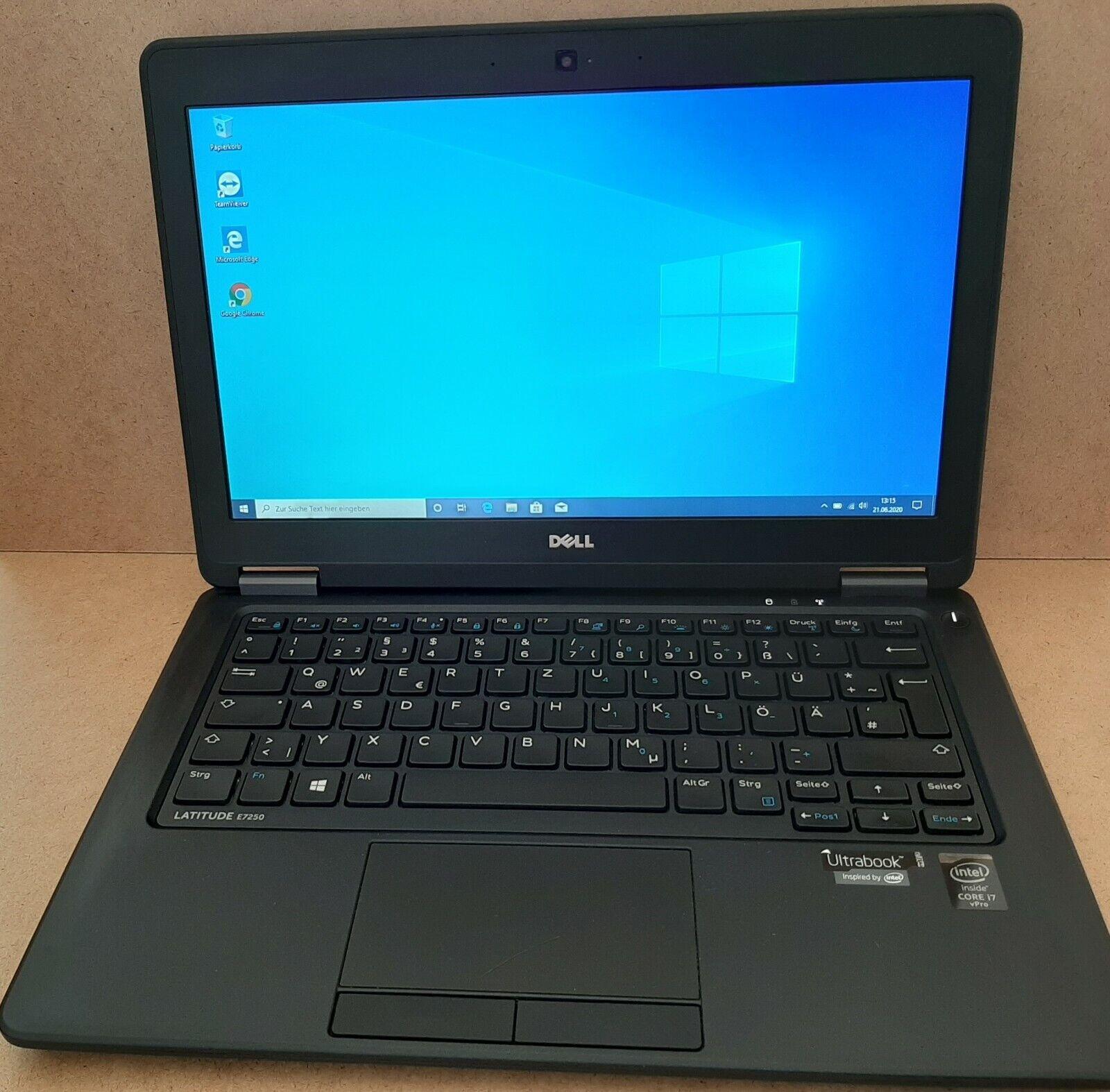 DELL Latitude E7250 Ultrabook i7-5600U 8 GB RAM 256 GB SSD 12,5