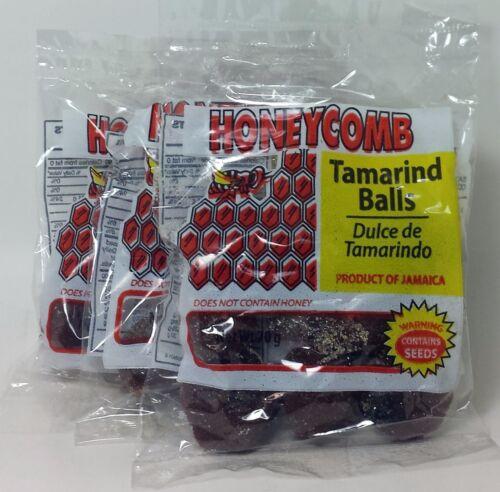 Honeycomb Tamarind Balls - Jamaican Style - (3 - Pack)