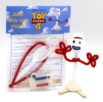 MAKE YOUR OWN FORKY TOY STORY 4 DIY KIT INC OTHER FORKY BONNIE ITEMS SEE IMAGES