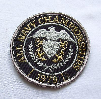 Aufnäher Navy Championship 1979 USA USS Nimitz Roosevelt Bush Eisenhower  Patch