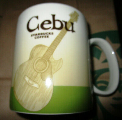 STARBUCKS PHILIPPINES ICON CEBU CITY 16 OZ MUG LIMITED EDITION discontinued