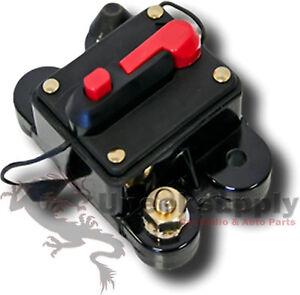 Cb60 minn kota compatible trolling motor 60 amp resettable for Trolling motor circuit breaker installation