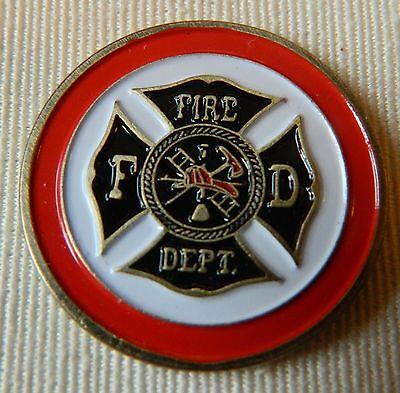 Firefighter Golf Accessories (Premium Fire Department Fireman Fire Fighter Golf Ball Marker)