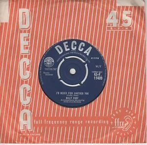 Billy Fury Id Never Find Another You