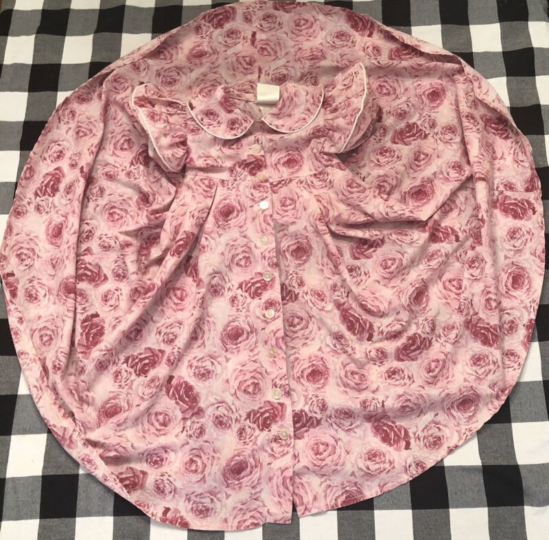 Vintage Daisy Kingdom Dress Floral Roses 4T