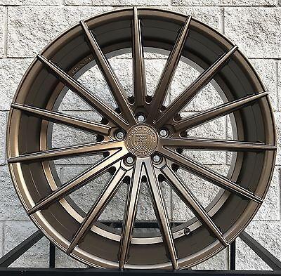 "22"" Lexani Pegasus Wheels Rims Maserati Ghibli Quattroporte S Q4 Bronze Set of 4"