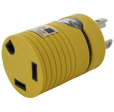 30 Amp Rvgenerator Adapter Nema L5-30p To Nema Tt-30r By Ac Works