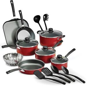 Tramontina Primaware 18piece Nonstick Kitchen Cooking Pots