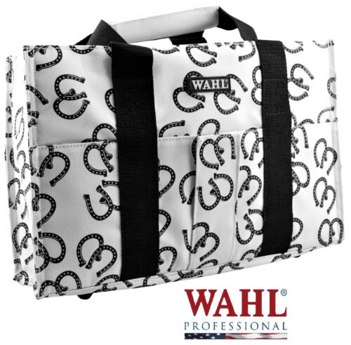 WAHL HORSESHOE Grooming TOTE/TACK BAG Storage Clipper/Blade/Tool/Accessory Case