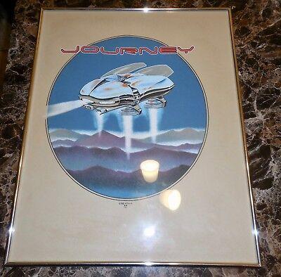 """Stanley Mouse Print~1982 Framed Journey Screen Felt Print 16""""X20"""""""
