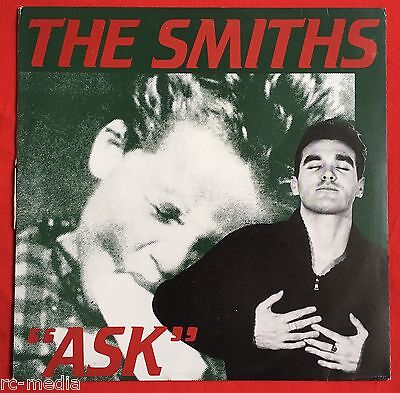 The Smiths  Ask Shoplifters  Ultra Rare Australian 12   Unique Pic Slv   Vinyl
