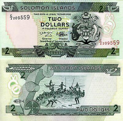 SOLOMON ISLANDS 10 Dollars Prefix C//1 1996 P-20 UNC Uncirculated
